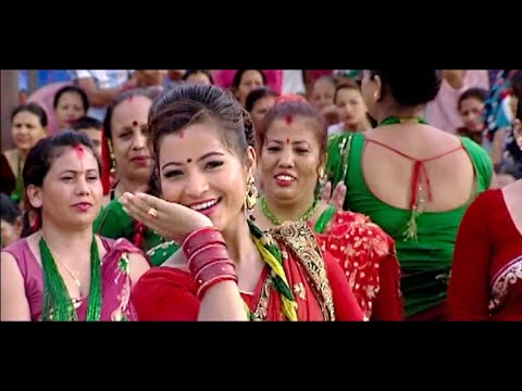 New Nepali Teej Song(2071/2014)| Malai ta katti maja ho by Sarita Shreshtha & Khuman Adhikari