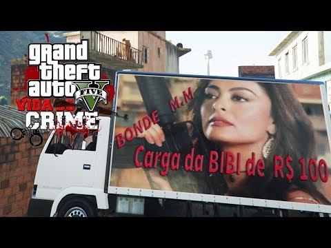 GTA V : VIDA DO CRIME  PEGANDO A CARGA DA BIBI PRO PLAYBOY !!! #10