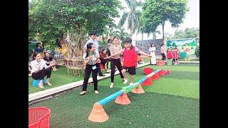 Trường Mầm non Thanh Sơn sôi nổi tổ chức chuyên đề phát triển thể chất cấp thành phố năm học 2019-2020
