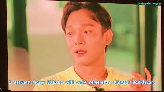 [ENG SUB] 180804-05 SUMMER VACATION with EXO-CBX VCR 2 (Q&A)
