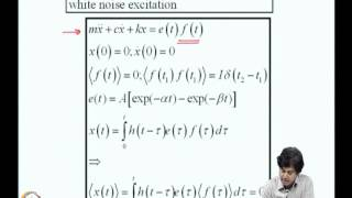 Mod-03 Lec-11 Random Vibrations Of Sdof Systems -3
