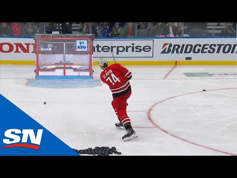 2020 NHL All-Star Skills Competition Accuracy Shooting