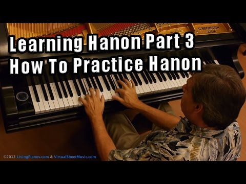 Learning Hanon - Part 3