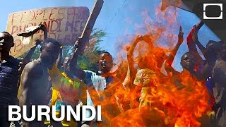 Subscribe! http://bitly.com/1iLOHml Thousands of Burundians are fleeing their homes as riots unfold in the nation's capital city. Here's a look at what is ca...