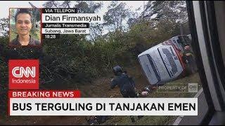Video Breaking News! Bus Terguling di Tanjakan Emen MP3, 3GP, MP4, WEBM, AVI, FLV Oktober 2018