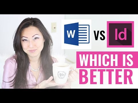 MS Word vs InDesign // Is Word better than InDesign for book formatting
