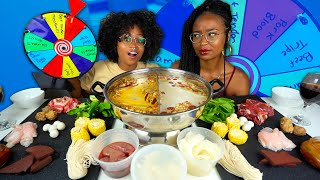 Video HOT POT SPIN THE WHEEL MUKBANG   UNIQUE ADDITIONS INCLUDING PORK BLOOD, BEEF THROAT AND MORE! MP3, 3GP, MP4, WEBM, AVI, FLV Agustus 2019