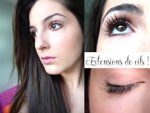 comment poser extension de cils