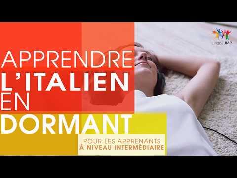 Apprendre l'italien en dormant ! Niveau intermédiaire ! Apprendre des mots & phrases en dormant !
