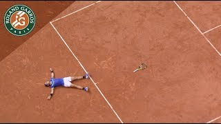 Rafael Nadal: From the first game to the last one. La Decima I Roland-Garros 2017. Watch the first game of Rafael Nadal at Roland-Garros in 2005 until his 10th victory agains Wawrinka in 2017! AMAZINGVisit Roland Garros' official website: http://rg.fr/RGwebSubscribe to our channel: http://rg.fr/ytrginFollow us!Facebook: http://rg.fr/FBRolGaTwitter: http://rg.fr/TwrolgInstagram: http://rg.fr/instRGThis is the official YouTube Channel of Roland Garros, home of the French Open. The tournament 2017 will run from 22 May- 11 June.