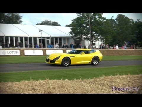 Alfa Romeo TZ3 Stradale Zagato   Made Appearances at Goodwood Festival of Speed