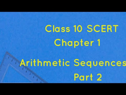 Class 10/Maths Chapter 1/Arithmetic Sequences(Part 2)/Solve & Solutions in maths/Ramshida Shaheer