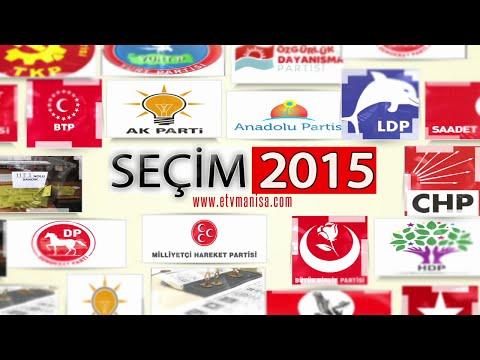 Seçim 2015 - CHP Manisa Milletvekili Aday Adayı Kanber Oğur (26.02.2015)
