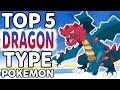 Top 5 Dragon Type Pokemon (Top Pokemon of Every Type #1)