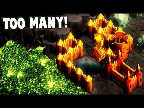 FORTRESS OVERRUN!  They Are TOO MANY!  They Are Billions! (They Are Billions Gameplay)
