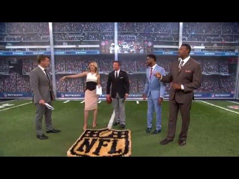NFL Network snaps with Mission 6 Zero's Nate Boyer!