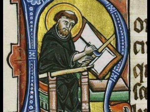 Das Entstehen der Buchmalerei im  Mittelalter - Dr Sally Dormer