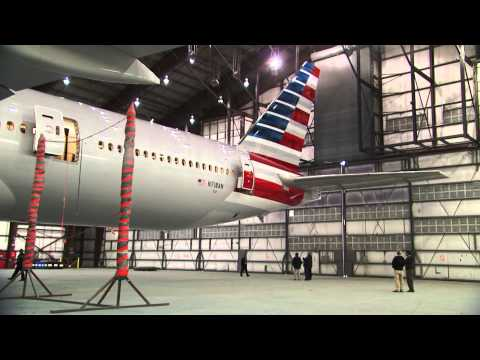 livery - Watch as we apply our new livery to our fleet. Learn more at http://www.aa.com/newamerican.