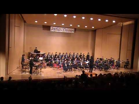2017年ジョイフルコンサート田辺中学校吹奏楽部