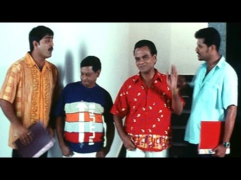 Oka Radha Iddaru Krishnula Pelli Movie    Prabhu Deva & Srikanth Leaking Qustions Comedy Scene