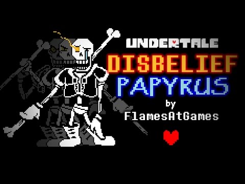 Video DISBELIEF (Papyrus's Genocide Route) [Undertale] download in MP3, 3GP, MP4, WEBM, AVI, FLV January 2017