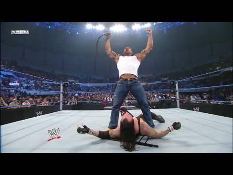 Video Batista attacks World Heavyweight Champion Undertaker download in MP3, 3GP, MP4, WEBM, AVI, FLV January 2017