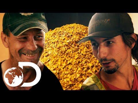 Parker's Impressive 131 Oz Clean Up | SEASON 9 | Gold Rush