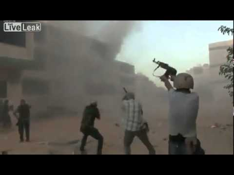 Libyan Rebels have their Gunfight at the Tripoli O.K. Corral