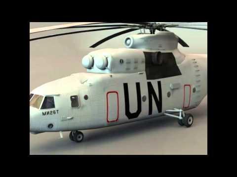 Download 3D Model Mil Mi-26 Helicopter...
