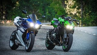 9. Swedish Motovlog - 2008 Yamaha YZF R1 Test Ride