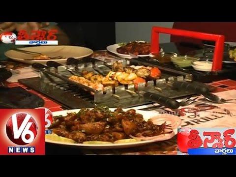 Hyderabad hotels serves Telangana special dishes  Teenmaar News