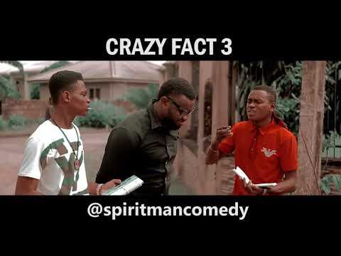 Crazy fact 3 - Spiritman comedy