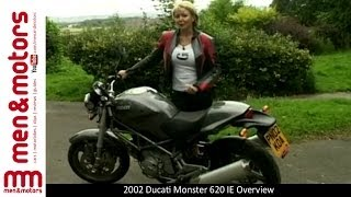 7. 2002 Ducati Monster 620 IE Overview