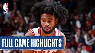 HAWKS at BULLS | Coby White Catches FIRE in Chicago | 2019 NBA Preseason by NBA