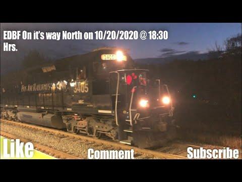 HD EDBF On it's way North on 10/20/2020 @ 18:30 Hrs.