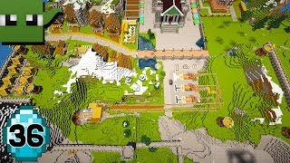 Transform a Minecraft Village into a Town E36 (THE END??)
