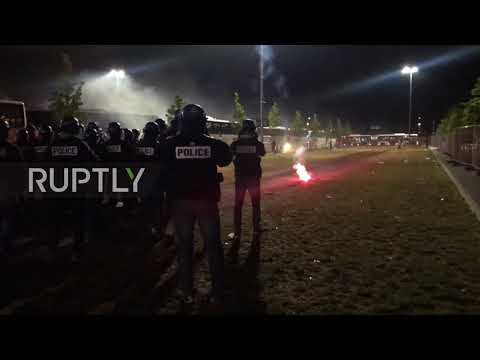 France: Police faceoff with hooligans after Europa League final, 21 arrested