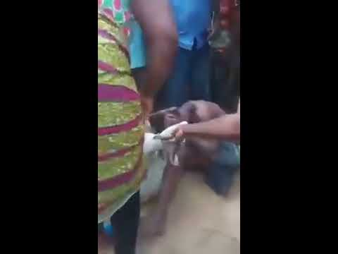 Nigerian Man Caught Red Handed Sleeping With A Goat
