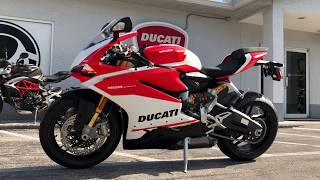 8. 2018 Ducati 959 Panigale Corse Walkaround at Euro Cycles of Tampa Bay Florida