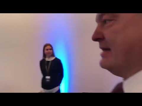 Пьяный президент Украины в Мюнхене