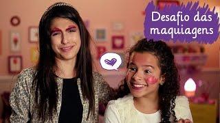 Video Desafio da maquiagem com Fe Concon e Gabriella Saraivah  ❤ Mundo da Menina MP3, 3GP, MP4, WEBM, AVI, FLV Juli 2019