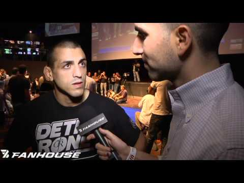 George Sotiropoulos Fine With His Place in the UFC Lightweight Division