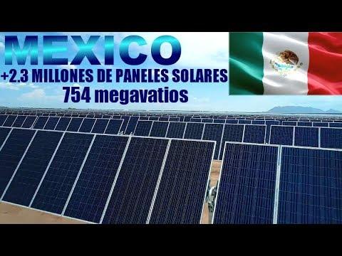 MEXICO: En Construcción, La Segunda Planta de Energía Solar Más Grande del Mundo