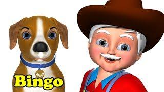 Bingo Nursery Rhyme - 3D Animation Nursery Rhymes & Bingo Dog Songs for  Children