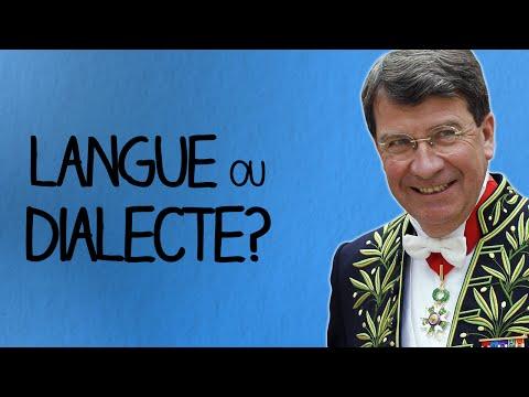 langue ou dialecte ? - Ma Langue dans Ta Poche #2