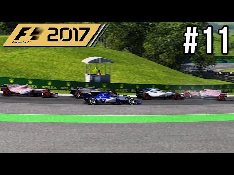 ONGELUK IN DE TWEEDE BOCHT - F1 2017 Career Mode #11 (Grand Prix Hongarije)