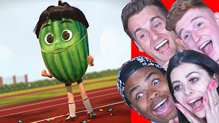 Reacting to the FUNNIEST Animations ft Reaction Time Infinite and Dangmattsmith