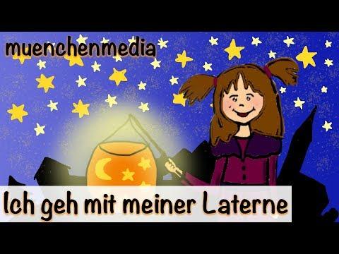 Ich geh mit meiner Laterne - Kinderlieder zum Mitsingen   Kinderlieder deutsch -  Sankt Martin