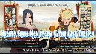 download naruto senki mod ninja storm 4 android