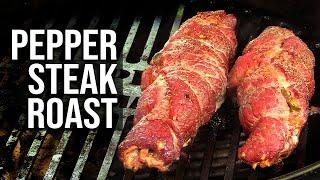 Pepper Steak Roast recipe by BBQ Pit Boys